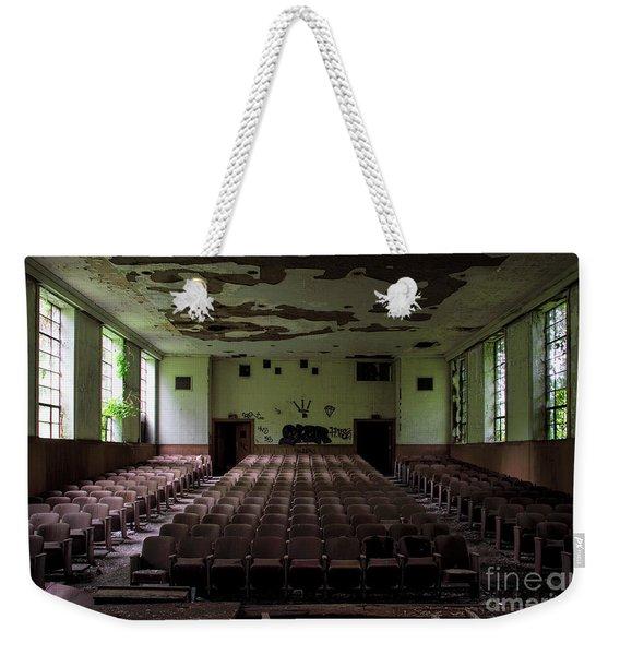 Rear View Weekender Tote Bag