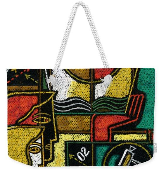 Research Weekender Tote Bag