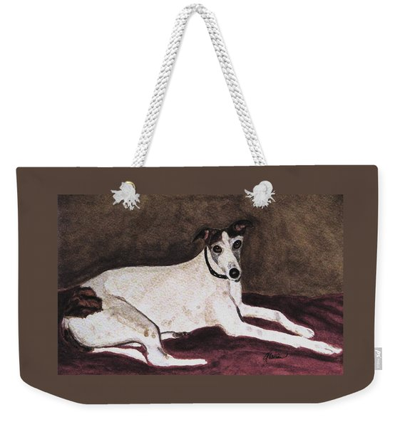 Resting Gracefully Weekender Tote Bag