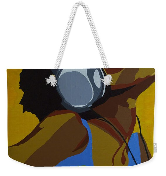 Rhythms In The Sun Weekender Tote Bag