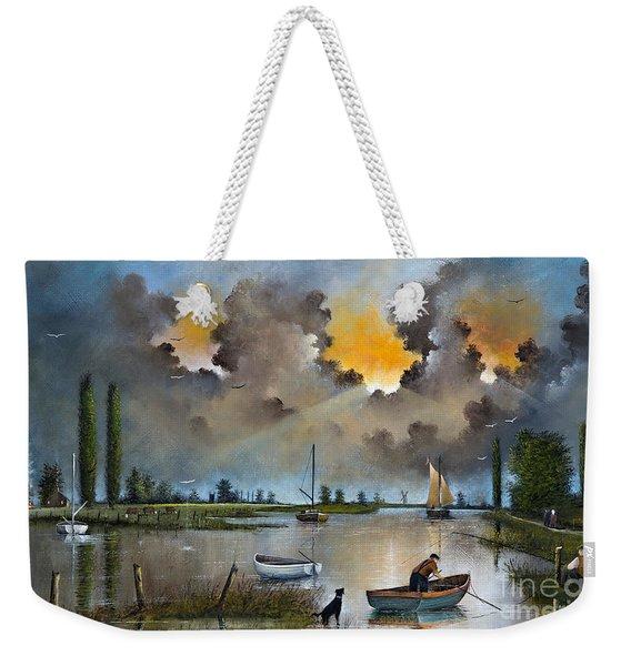 River Yare On The Broads Weekender Tote Bag