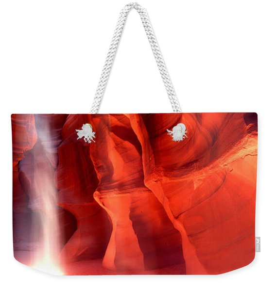 Rock Formations In A Canyon, Antelope Weekender Tote Bag