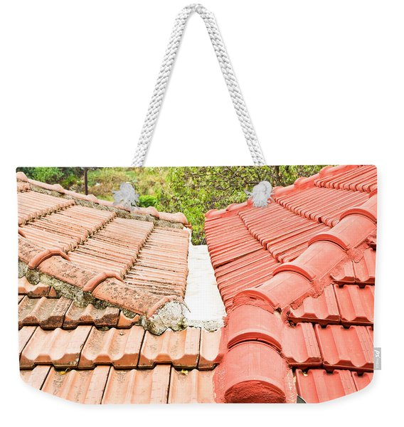 Roof Tiles Weekender Tote Bag