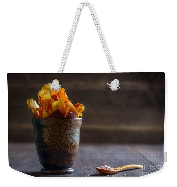 Root Vegetable Crisps Weekender Tote Bag
