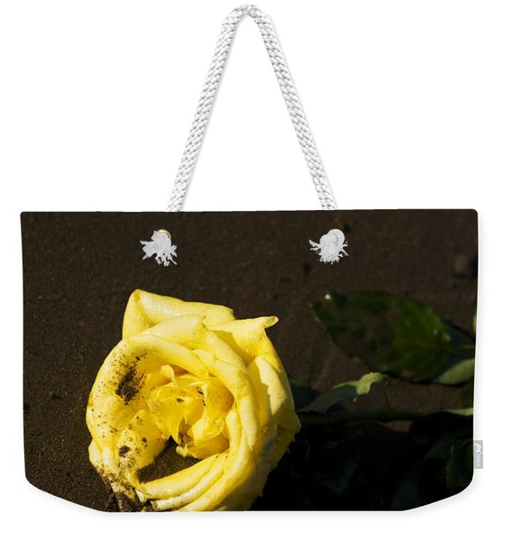 Rosey Beach Wedding Weekender Tote Bag