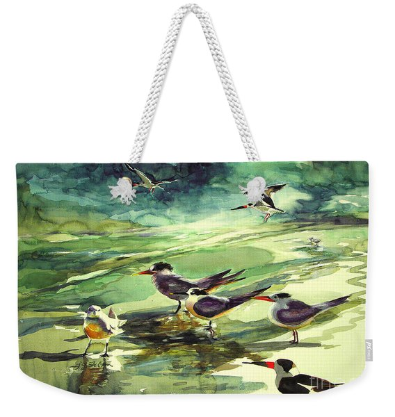 Royal Terns And Black Skimmers Weekender Tote Bag