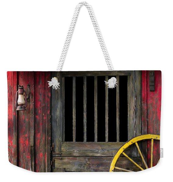 Rural Western Weekender Tote Bag