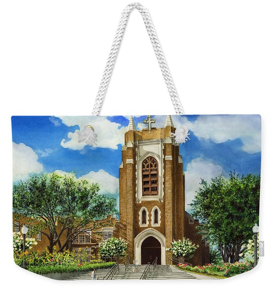 Saint Andrews Episcopal Church Bryan Texas Weekender Tote Bag