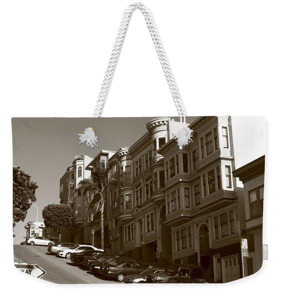 San Francisco Hills  Weekender Tote Bag