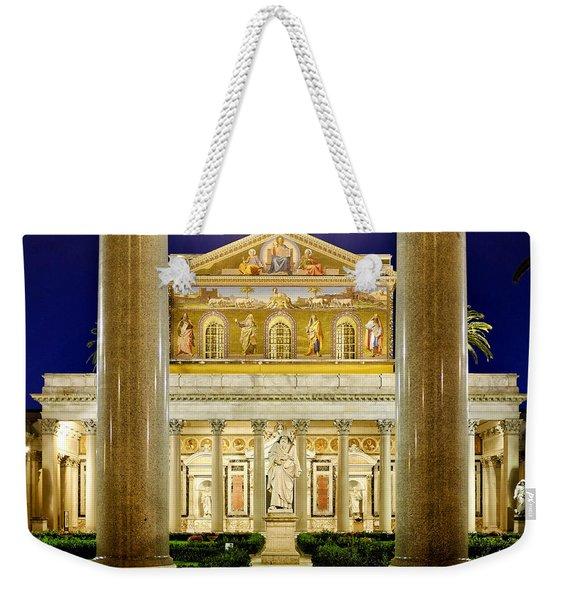 San Paolo Fuori Le Mura Weekender Tote Bag