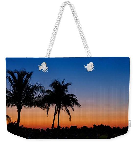 Sanibel Island Florida Sunset Weekender Tote Bag