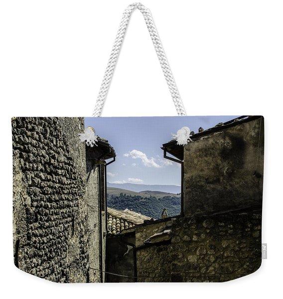 Santo Stefano Di Sessanio - Italy  Weekender Tote Bag