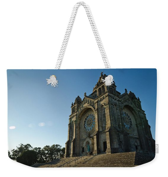 Santuario Do Sagrado Coracao De Jesus Weekender Tote Bag