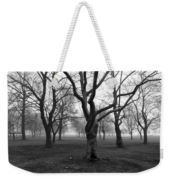 Seaside By The Tree Weekender Tote Bag