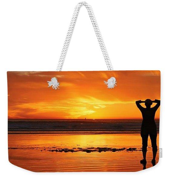 Seaside Reflections  Weekender Tote Bag