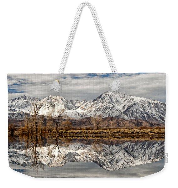 Sierra Reflections Weekender Tote Bag