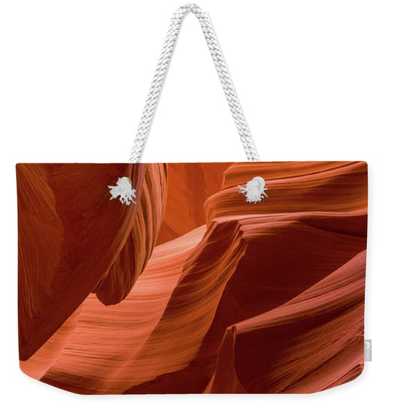 Slot Canyon, Lower Antelope Canyon Weekender Tote Bag