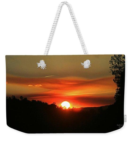Smokin' Payson Sunset Weekender Tote Bag