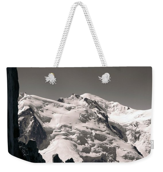 Snow Weekender Tote Bag
