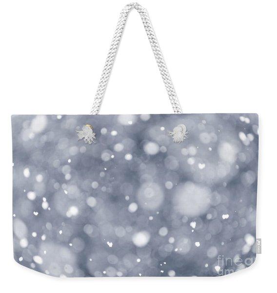 Snowfall  Weekender Tote Bag