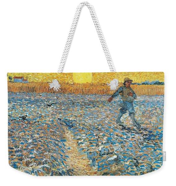 Sower Weekender Tote Bag