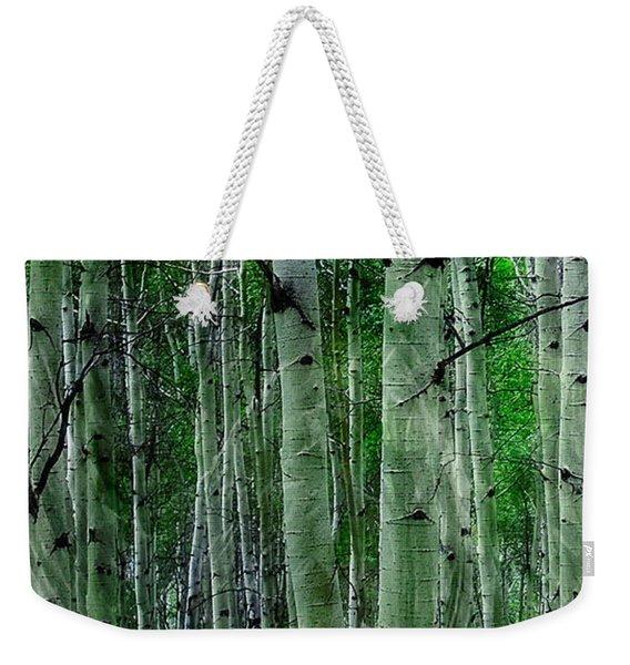 Spectacular Aspens Weekender Tote Bag