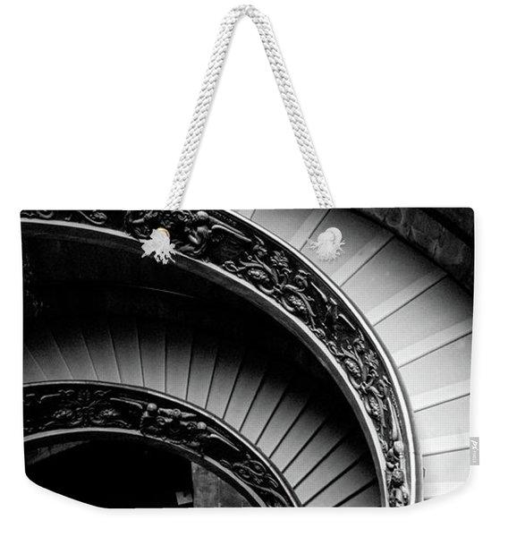 Spiral Staircase, Vatican Museum, Rome Weekender Tote Bag