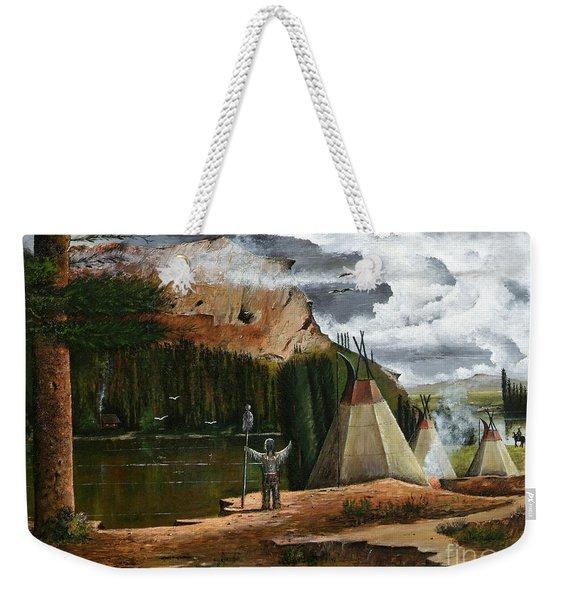 Spiritual Home Weekender Tote Bag