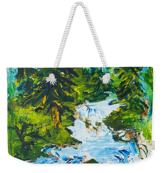 Spring Run-off Weekender Tote Bag