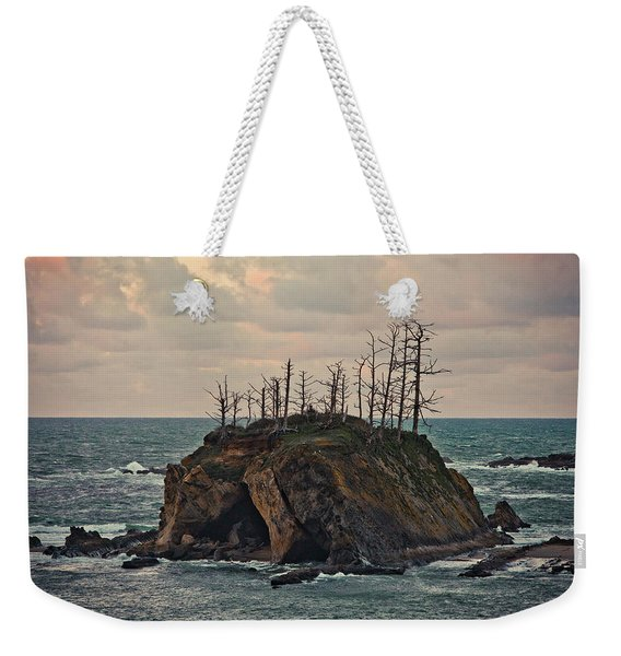 Squaw Island In Sunset Bay Park Weekender Tote Bag