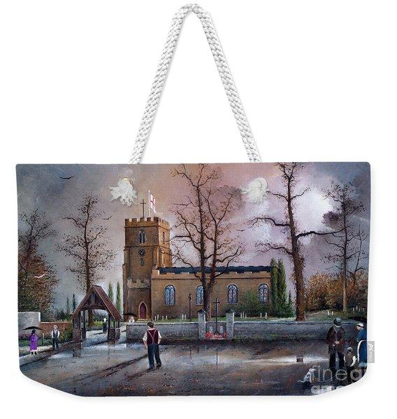 St Marys Church - Kingswinford Weekender Tote Bag