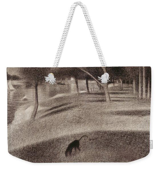 Study For Sunday Afternoon On The Island Of La Grande Jatte Weekender Tote Bag