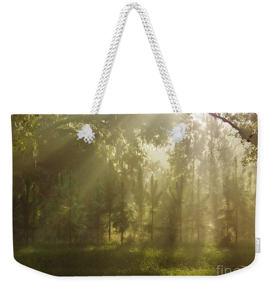Sunshine Morning Weekender Tote Bag