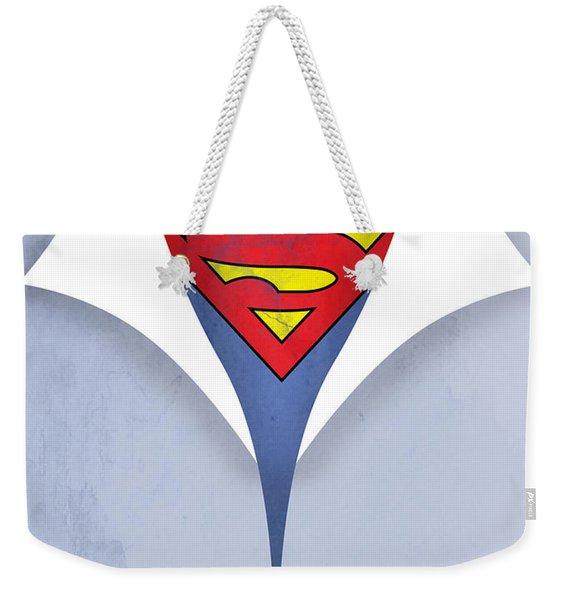 Superman 9 Weekender Tote Bag