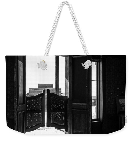 Swinging Doors Weekender Tote Bag