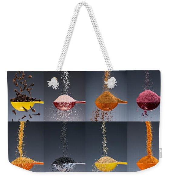 1 Tablespoon Flavor Collage Weekender Tote Bag