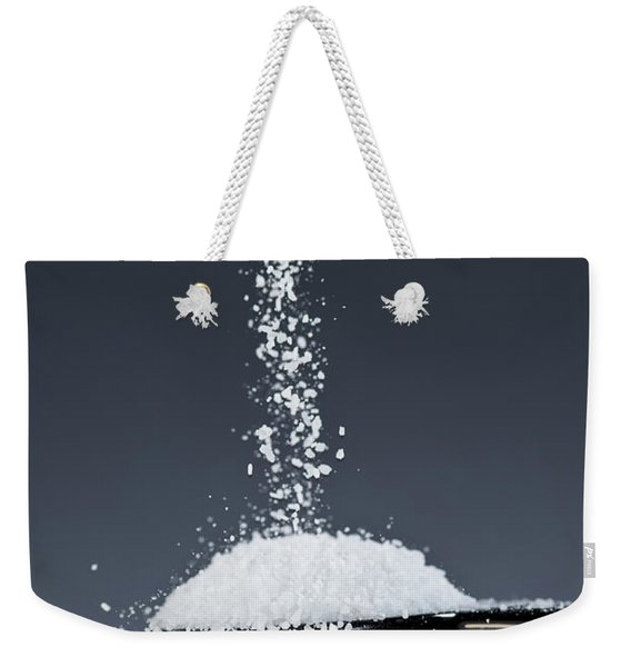 1 Tablespoon Kosher Salt Weekender Tote Bag
