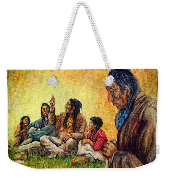 Tales Passed On Weekender Tote Bag