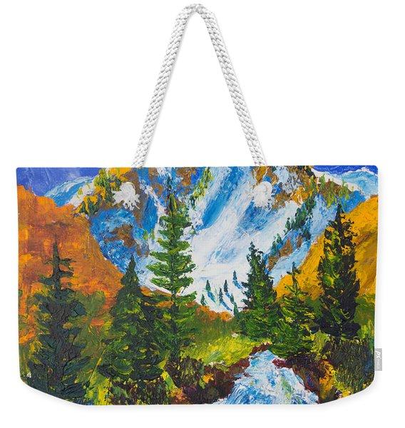Taylor Canyon Run-off Weekender Tote Bag