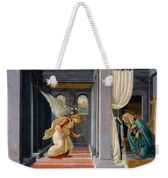 The Annunciation Weekender Tote Bag