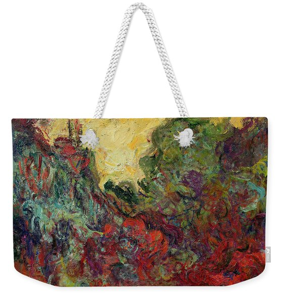 The Artists House From The Rose Garden, 1922-24 Oil On Canvas Weekender Tote Bag