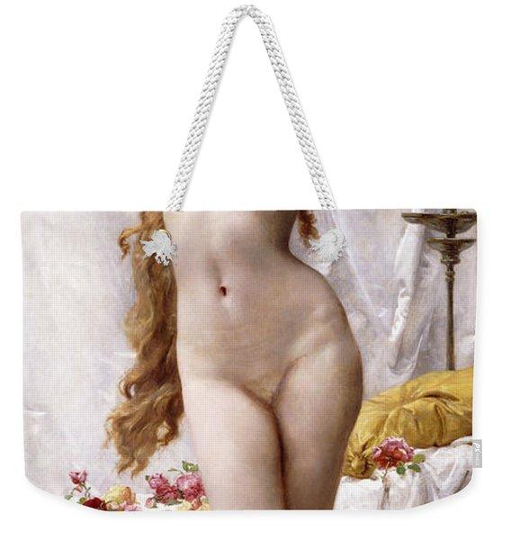 The Awakening Of Psyche Weekender Tote Bag
