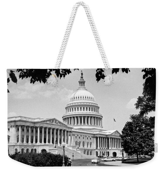 The Capitol Building Weekender Tote Bag