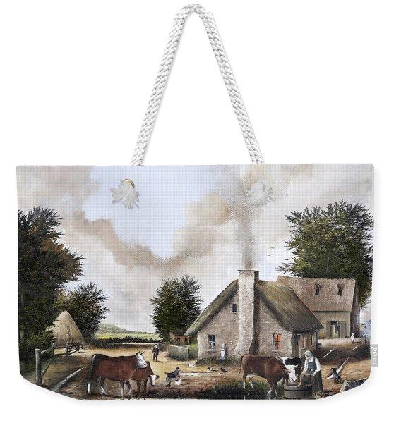 The Farmyard Weekender Tote Bag