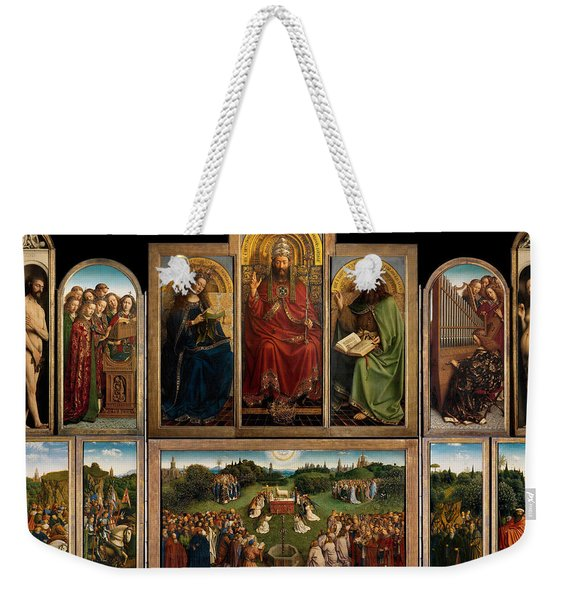 The Ghent Altarpiece Open Weekender Tote Bag