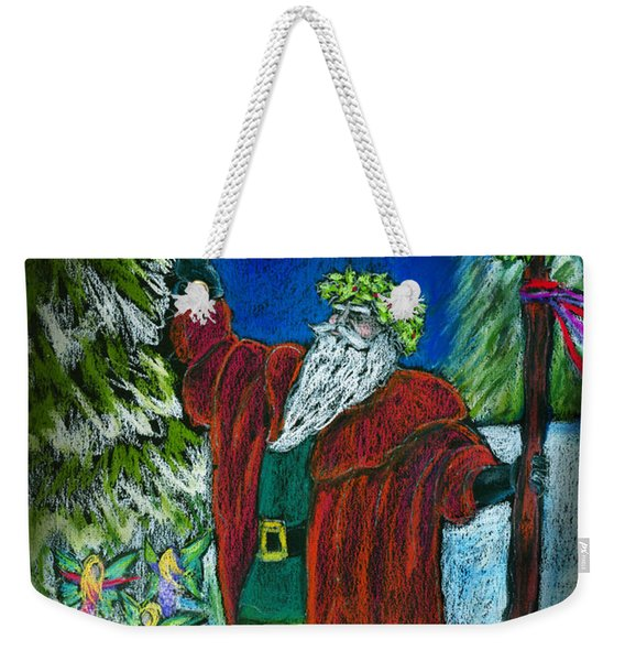 The Holly King Weekender Tote Bag