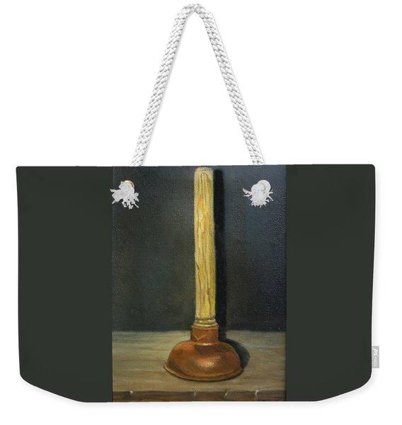 The Lone Plunger Weekender Tote Bag