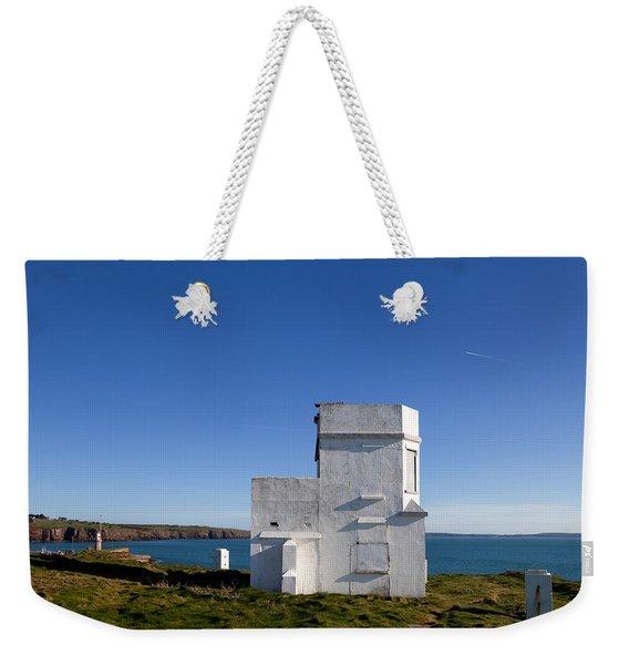 The Old Coastguard Station, Dunmore Weekender Tote Bag