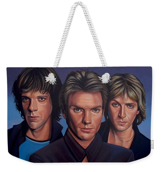 The Police Weekender Tote Bag