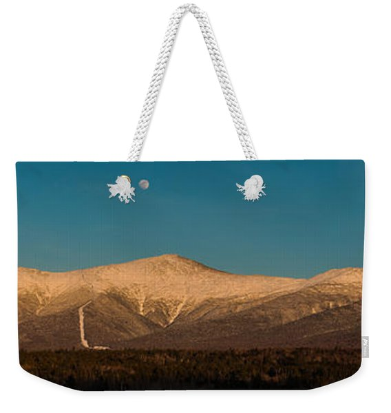 The Presidential Range White Mountains New Hampshire Weekender Tote Bag